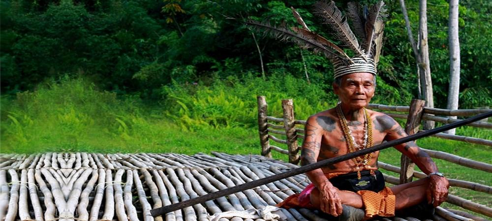 Iban Villager, Malaysia Borneo Adventure Tour
